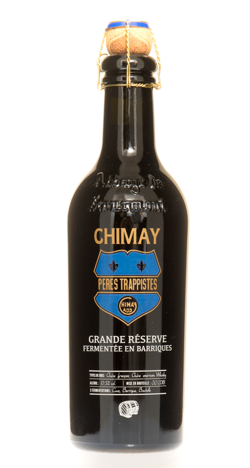 Chimay Bleue Grande Réserve Barrica Whisky
